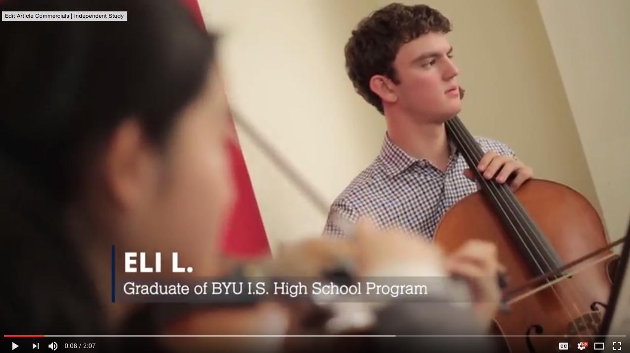 high school programs Eli, youtube video